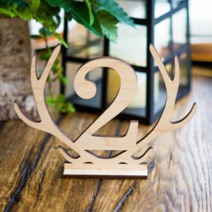 Cut out table numbers