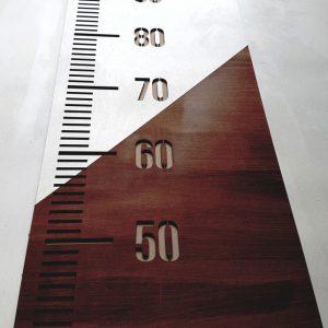 Oversized ruler