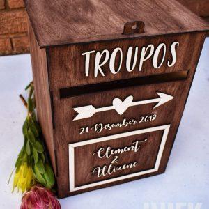 Troupos boks / Wedding Post box