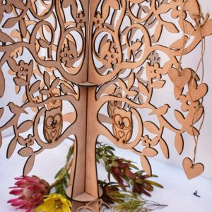 3D Guest book tree