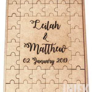 Puzzle Guestbook Boards